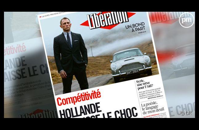 La Une de Libération du 26 octobre 2012.