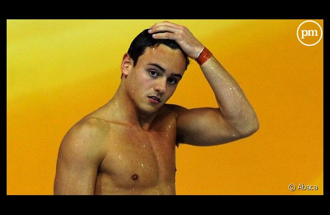 Le plongeur Tom Daley