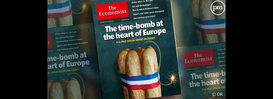 """La Une de """"The Economist""""."""