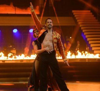 Emmanuel Moire et Fauve Hautot dans 'Danse avec les stars'