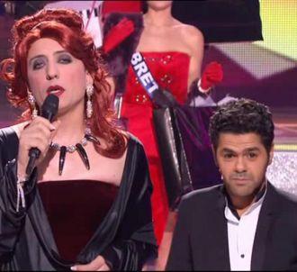 Les happenings de Jamel et Gad à 'Miss France 2013' et au...