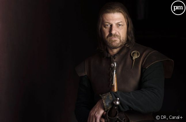 "Sean Bean incarne Eddard Stark, gouverneur du Nord dans ""Game Of Thrones"" sur Canal+."