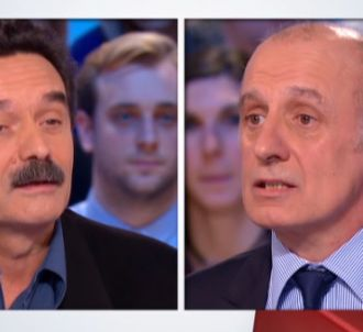 Aphatie face à Plenel, dans 'Le grand journal' de Canal+.