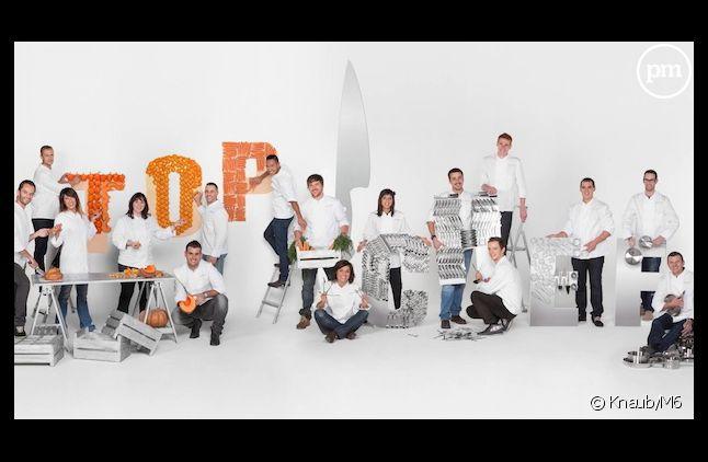 """Les candidats de """"Top Chef"""" saison 4 (2013)"""