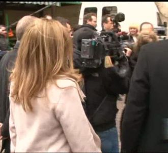 Valérie Trierweiler s'énerve contre un journaliste.
