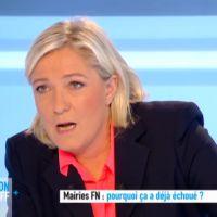 Echange à haute tension entre Marine Le Pen et Anne-Sophie Lapix sur Canal+