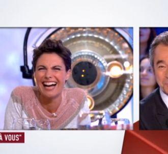 Alessandra Sublet et Michel Denisot.