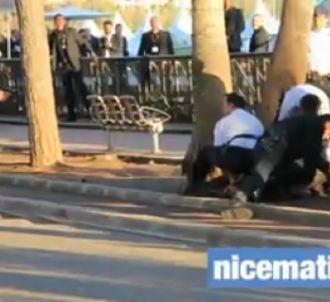 Les images de l'arrestation
