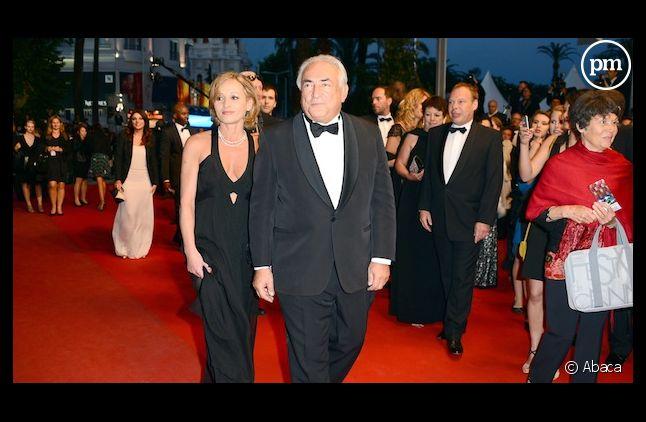 Dominique Strauss-Kahn a monté les marches