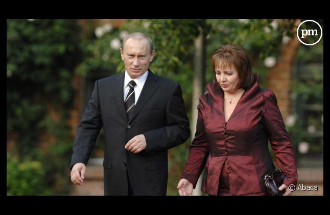 Vladimir Poutine et sa femme