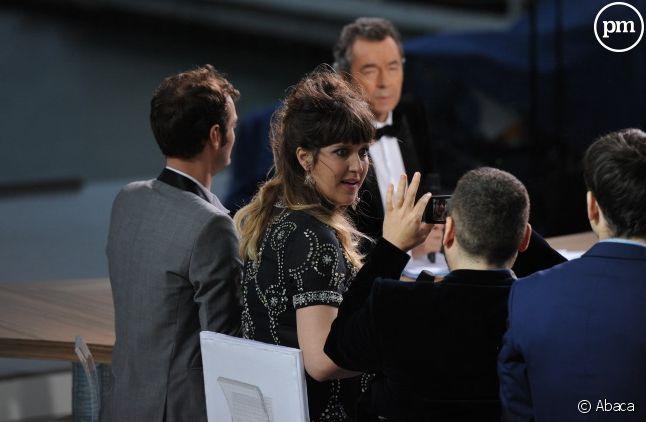 """""""Le grand journal"""" à Cannes"""