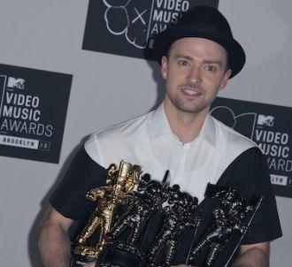 Justin Timberlake a remporté quatre trophées aux MTV...