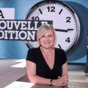 """Anne-Elisabeth Lemoine de """"La Nouvelle Edition"""" sur Canal+."""