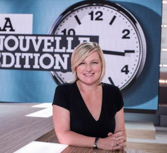 Anne-Elisabeth Lemoine de 'La Nouvelle Edition' sur Canal+.
