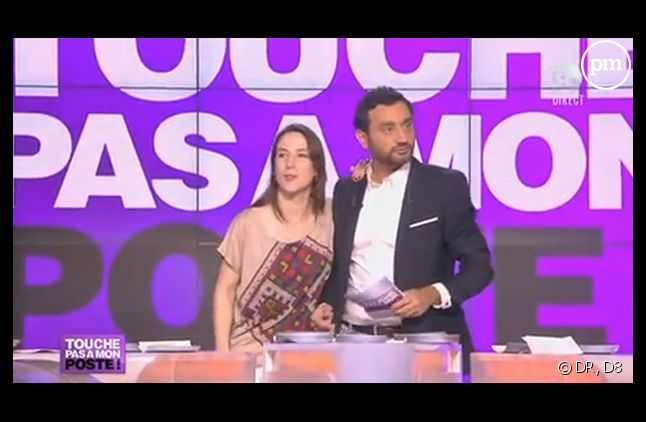 "L'intervention de Sophie Tissier en direct dans ""TPMP"", sur D8."