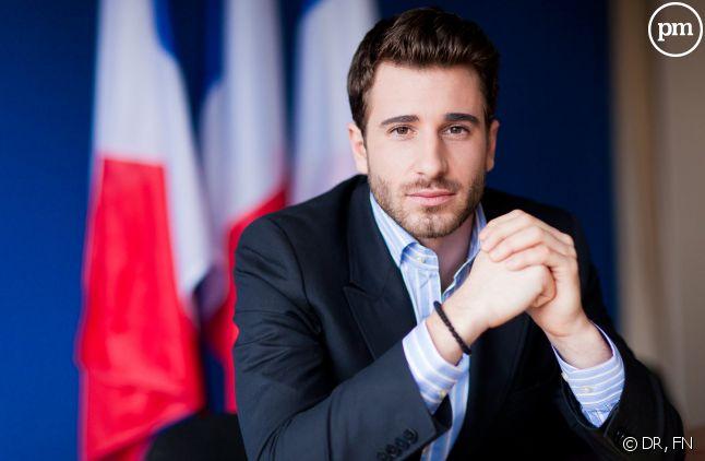 """Julien Rochedy, président des """"Jeunes avec Marine""""."""