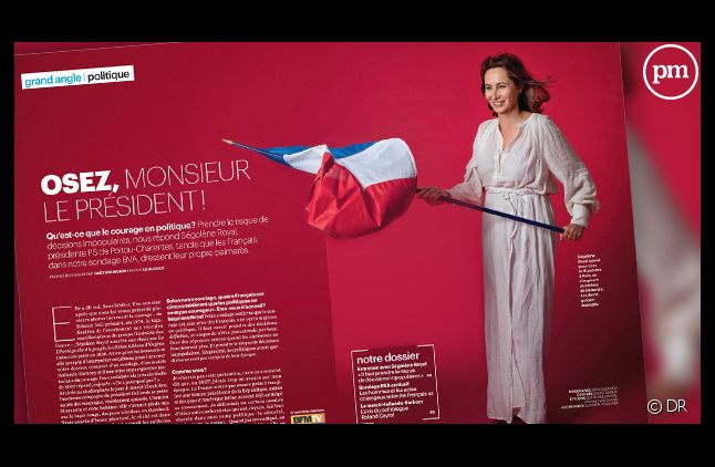 """""""Le Parisien Magazine"""", daté du 25 octobre 2013."""