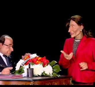 'Les Guignols', sur Canal+ le 4 novembre 2013.