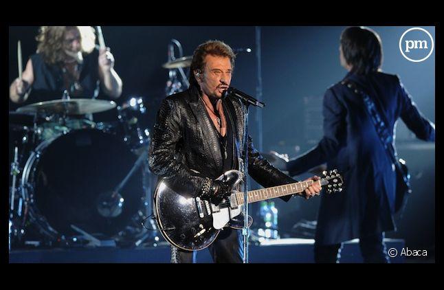Johnny Hallyday figure dans le top 3 des plus gros vendeurs de disques des dix dernières années