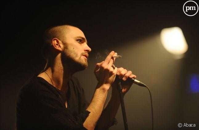 Le chanteur Soan, en concert.