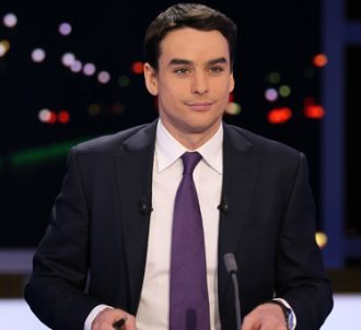 Julian Bugier, au 20 heures de France 2.