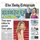 La Une du Telegraph, le 11 janvier 2014