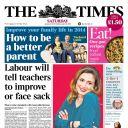 La Une de The Times, le 11 janvier 2014