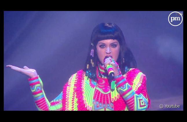Katy Perry aux Brit Awards 2014