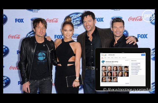 """Le vote par Google débarque dans """"American Idol"""""""