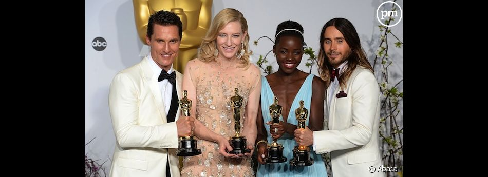 Matthew McConaughey, Cate Blanchett, Lupita Nyong'o et Jared Leto.