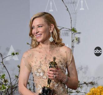 Cate Blanchett radieuse après son prix de la meilleure...