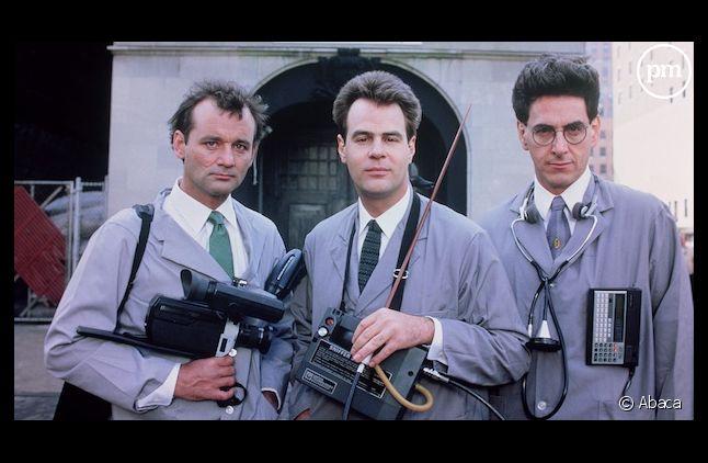"""Bill Murray, Dan Aykroyd et Harold Ramis dans """"SOS Fantômes"""" (1984)"""