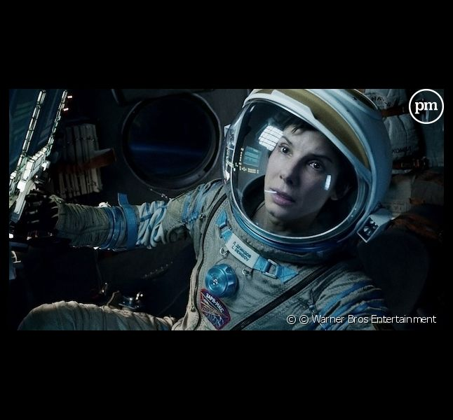 "Sandra Bullock dans ""Gravity"""