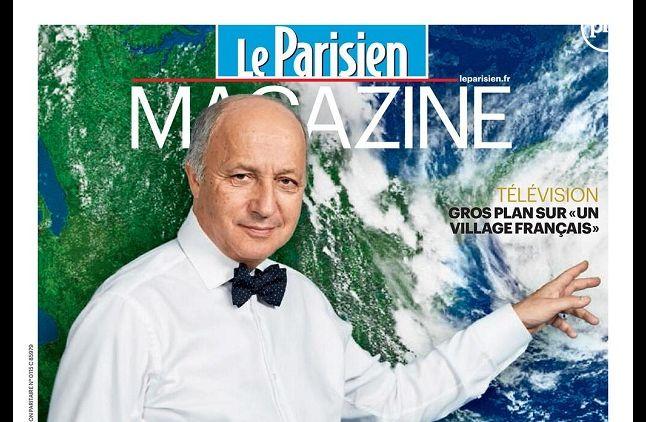 """Laurent Fabius en Une du """"Parisien Magazine"""""""