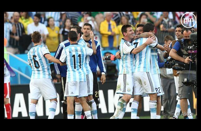 Lionel Messi hier après la victoire de l'ARgentine face à la Suisse