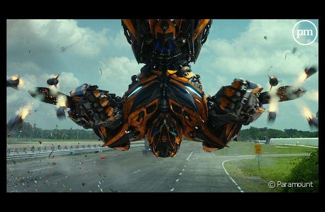 """""""Transformers : l'âge de l'extinction"""" démarre en tête du box-office"""