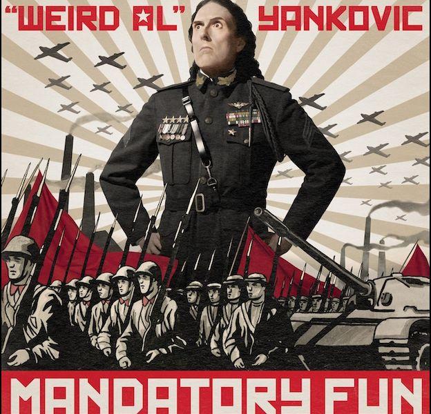 "1. ""Weird Al"" Yankovic - ""Mandatory Fun"""