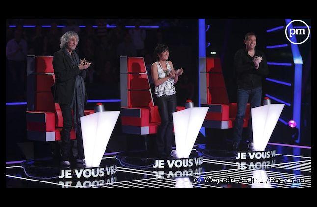 """Garou, Jenifer et Louis Bertignac en interview sur puremedias.com pour """"The Voice Kids"""""""