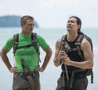Freddy et Teheiura dans 'Koh-Lanta' 2014