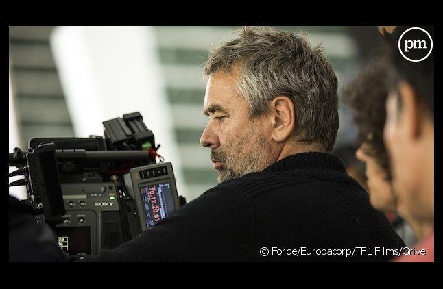 """Luc Besson sur le tournage de """"Lucy"""""""