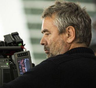 Luc Besson sur le tournage de 'Lucy'