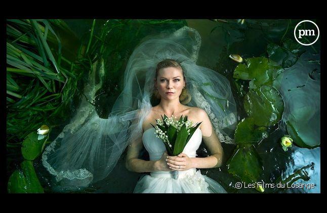 """Kirsten Dunst, prix d'interprétation à Cannes avec """"Melancholia"""""""