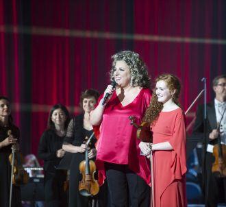 Marianne James et Camille, gagnante de 'Prodiges'.