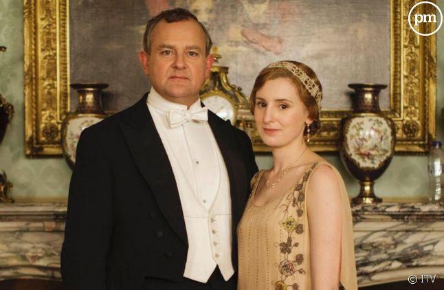 """Carton pour le retour de """"Downton Abbey"""" aux Etats-Unis"""