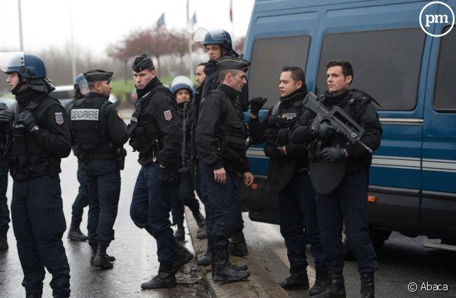 Les forces de l'ordre à Dammartin-en-Goële