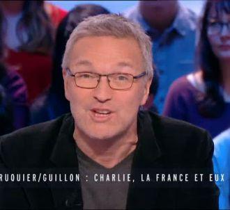 Laurent Ruquier, sur Canal+ le 14 janvier 2015.