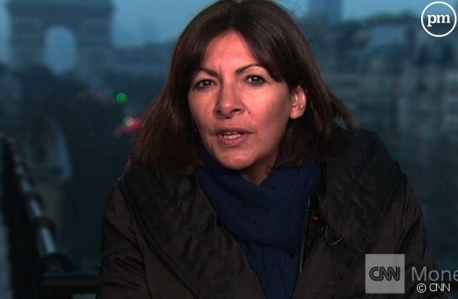 Anne Hidalgo en interview sur CNN