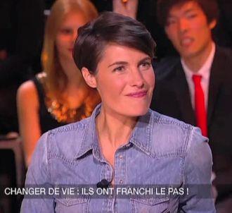 Alessandra Sublet dans 'Un soir à la tour Eiffel'.