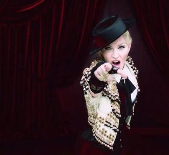 Madonna dévoile le clip de 'Living for Love' sur Snapchat