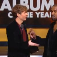 Grammy Awards 2015 : Kanye West s'en prend à Beck, lui demandant de donner son trophée à Beyoncé